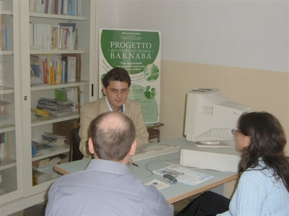 Progetto Barnaba (Caritas diocesana, Ufficio Pastorale sociale, Ufficio di Pastorale giovanile • Andria)
