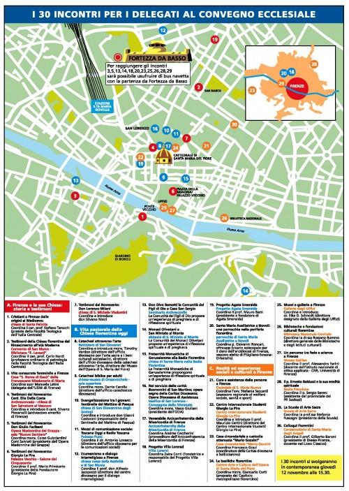 Mappa 30 incontri