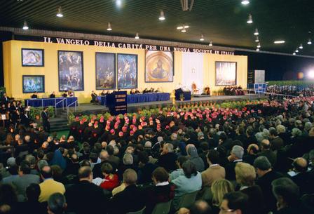 PALERMO 23-11-1995 CONVEGNO ECCLESIALE  IL DISCORSO DI PAPA GIOVANNI PAOLO II