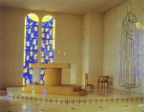 Matisse, L'Albero della Vita, Vence, Cappella di Santa Maria del Rosario