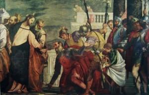 Veronese, Cristo e il centurione, Madrid, Museo del Prado
