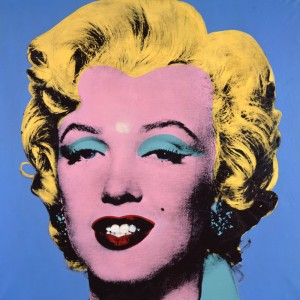 Andy Warhol, Blue Shot Marilyn, New York, Collezione Brant