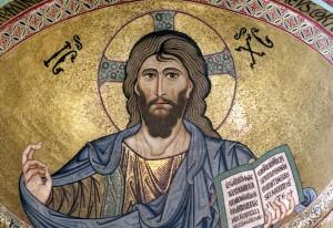 Cefalù-Cattedra-interno-mosaici-Cristo-Pantocratore-sec.-XII