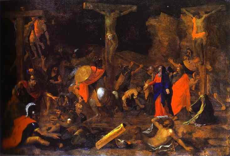 NicolasPoussin-Thecrucifixion