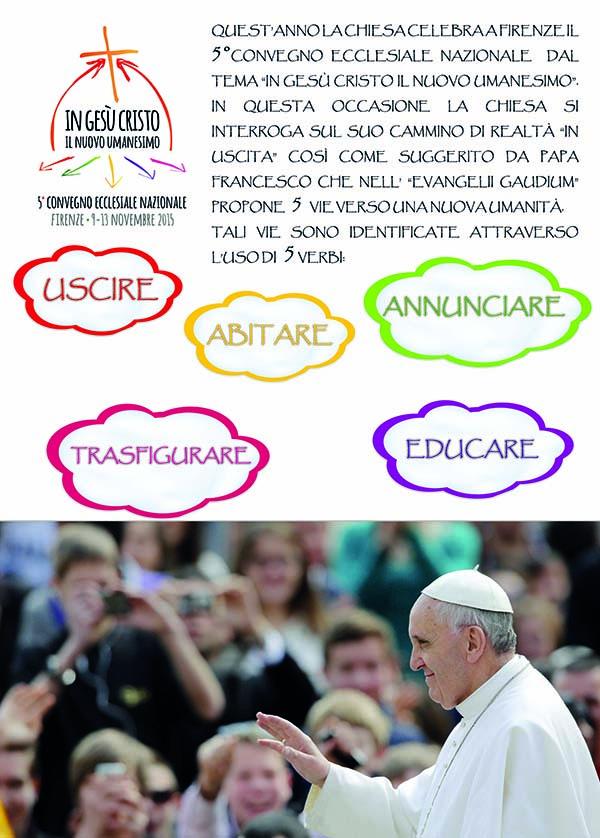 """5 vie, 5 poster"" dalle parrocchie Regina del Rosario e Sant'Antonio • Palagianello (Ta)"