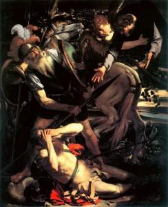 Caravaggio Conversione di Saulo (Odescalchi)