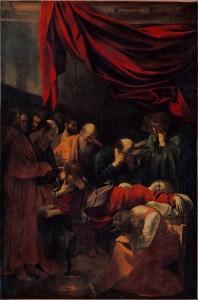 Caravaggio La Morte della Vergine
