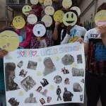 """""""Un sorriso... luce di speranza"""" dalla 2D scuola secondaria di I grado """"Veroli 2"""" • Veroli (Fr)"""