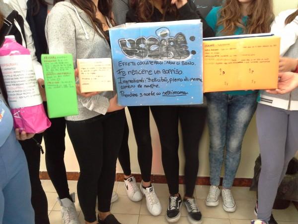 """""""5 medicine per essere umani"""" dalla 3A scuola secondaria di I grado dell'IC """"Veroli 1"""" • Veroli (Fr)"""