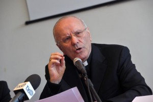 Roma 12 Marzo 2015.Caritas e Servizio Civile.Nunzio Galantino