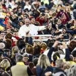 Firenze 10-11-2015 Papa Francesco celebra la S.S Messa nello Stadio Artemio Franchi in occasione del Convegno Ecclesiale della Conferenza Episcopale Italiana Ph: Cristian Gennari/Siciliani
