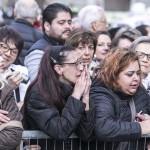 Firenze, 10-11-2015. Quinto Convegno Ecclesiale Nazionale. L'arrivo del Papaal Duomo di Firenze.Foto Agenzia Romano Siciliani/s