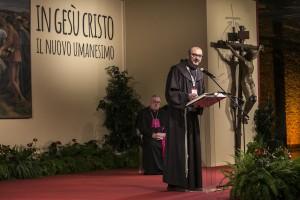 Firenze, 11 novembre 2015. Il 5° Convegno Ecclesiale Nazionale. Fra Giulio Michelini.