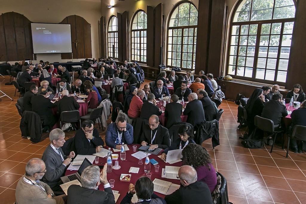 Firenze, 11-11-2015. Il V Convegno Ecclesiale Nazionale. I gruppi di lavoro.Foto Agenzia Romano Siciliani/s