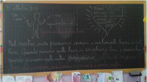 """""""Essere umani è semplicemente amare"""" dalla scuola primaria di Foglizzo (To)"""