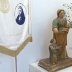 Santa Barbara che porta Maria Bambina - ingresso Mostra